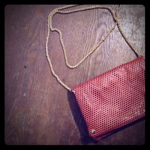 Kimchi Blue snap purse with gold chain